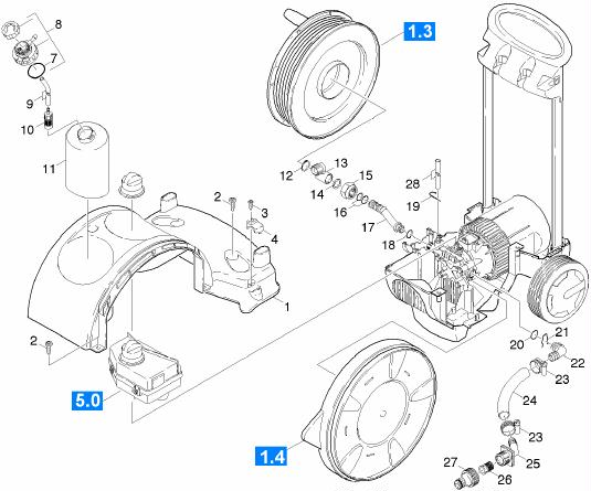 Pi ces d tach es karcher k7 pressure washers k770mx plus - Pieces detachees karcher ...