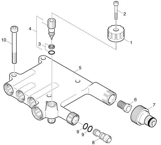 Pi ces d tach es karcher k7 pressure washers k720m - Pieces detachees karcher ...