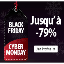 Black Friday & Cyber Monday - 90%